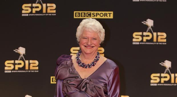 Dame Mary Peters was the 1972 Pentathlon gold medal winner