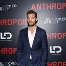 Jamie Dornan at the premiere of World War Two movie Anthropoid in New York