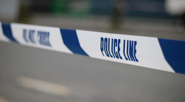 Two women were arrested on suspicion of breaching the security cordon
