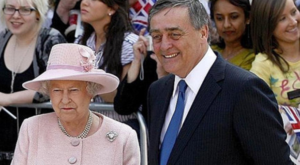 Queen Elizabeth with the Duke of Westminster in 2008. The Duke passed away at Royal Preston Hospital