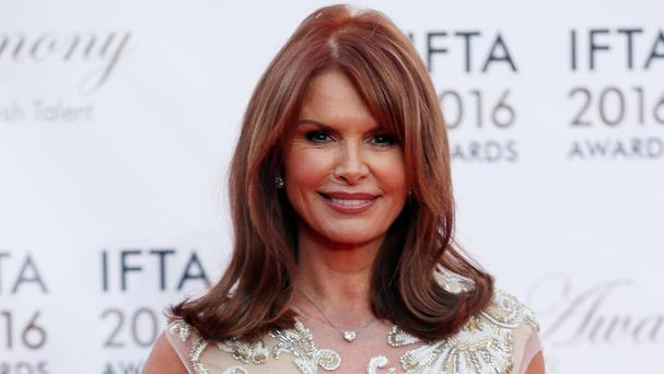 Londonderry-born actress Roma Downey