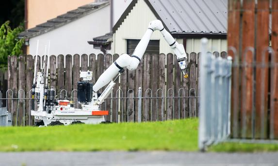 Security alert in Carrickfergus, after the discovery of a suspicious object over the weekend