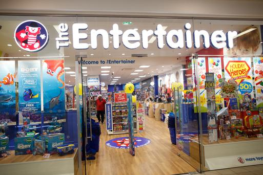 The Entertainer store which has opened in CastleCourt
