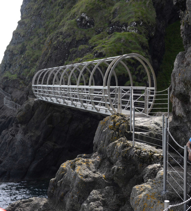 The Gobbins cliff path has been dogged by problems
