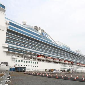 The Caribbean Princess cruise ship, visited Belfast