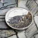 A new coin featuring the Giant's Causeway has been unveiled by the Royal Mint as part of a special collection
