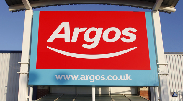 High street chain Argos has been accused of glorifying terrorism by helping to distribute loyalist paramilitary T-shirts
