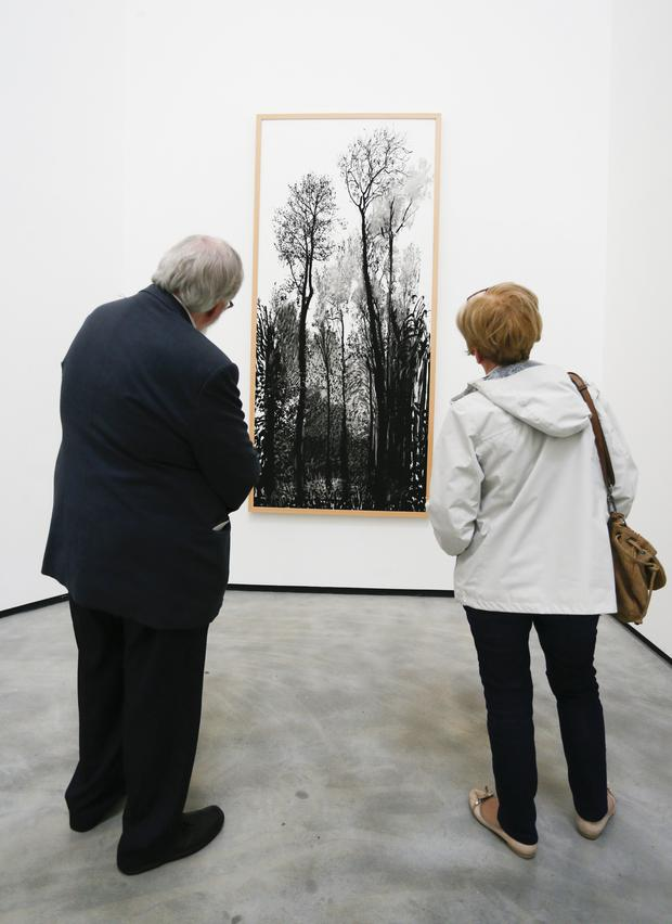 The David Hockney exhibition at the MAC in Belfast
