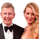Glamorous couple Patrick Kielty and wife Cat Deeley at an event in Los Angeles