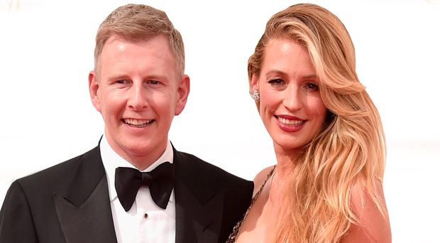 Patrick Kielty and wife Cat Deeley at an event in Los Angeles