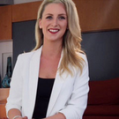 Convicted drug smuggler Michaella McCollum on television after her release from a Peruvian jail