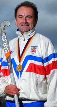 Former Northern Ireland gold medalist Stephen Martin, part of the GB hockey squad, in the 1988 Seoul Olympics