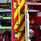 An elderly couple has escaped serious injury after a house fire in Antrim