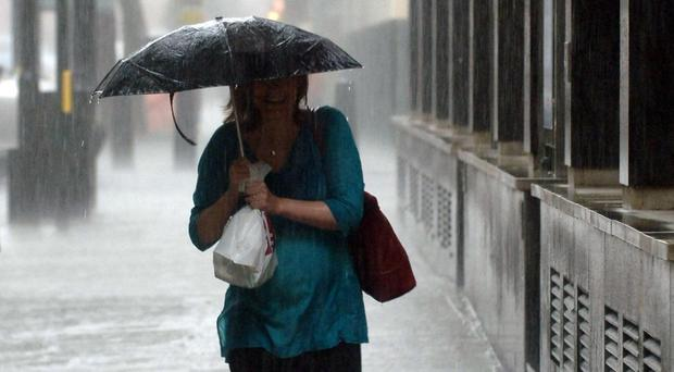 The north is on flood alert while the south will enjoy a sunnier outlook
