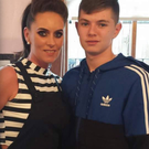 Donna O'Halloran and son Caolan