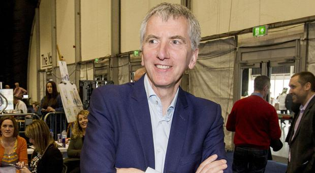 Mairtin O Muilleoir has so far resisted pressure to temporarily step down