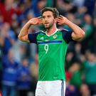 Will Grigg has missed out on selection for the World Cup qualifier.