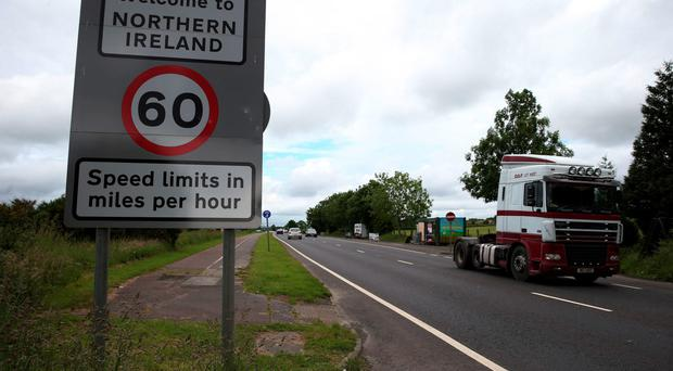 The border between Northern Ireland and the Republic