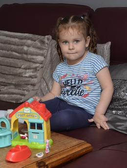 Olivia Marshall, who has autism and is finding it difficult to get a school place near her home
