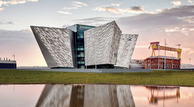 Titanic Belfast beat competition from the likes of the Acropolis, Colosseum and Eiffel Tower at a gala ceremony in Sardinia on Sunday