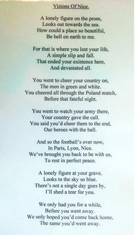 The poem his dad has penned in tribute to his late son