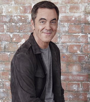 James Nesbitt made his return along with the rest of the Cold Feet cast on Monday night