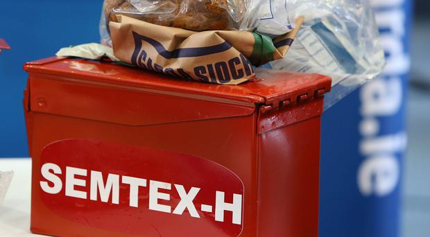 17kg of Semtex was among the weaponry found since the IRA decommissioned