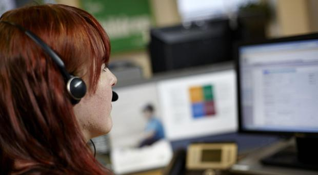 Many calls to the NSPCC's Childline were referred to emergency services