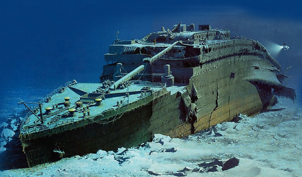 Titanic wreck 'will dissolve in 14 years ...