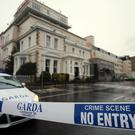 The shooting happened at the Regency Hotel in Dublin.