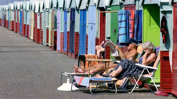 Temperatures on Tuesday are expected to peak between 30C and 32C in the south