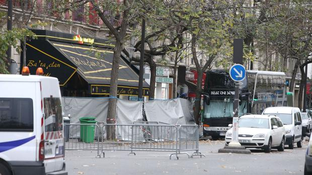 The Bataclan Theatre in Paris was stormed by gunmen during a concert in November last year