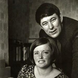 Marie and Seamus Heaney with their son Christopher