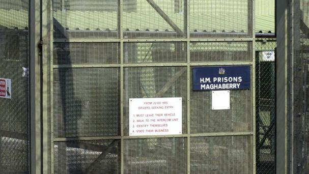 Sean Lynch inflicted extreme self-harm at the high-security Maghaberry Prison in Co Antrim in June 2014