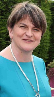 Arlene Foster (pictured) and Kate Carroll have both expressed anger at the Sinn Fein prison visit