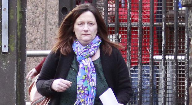 Nicola Currell at an earlier court appearance