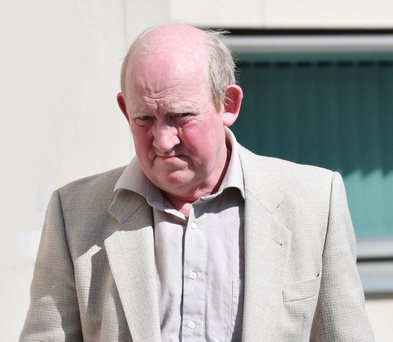 Paul Ervine at an earlier court appearance