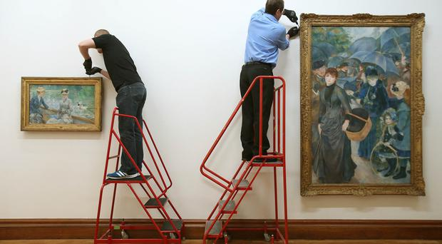 'Museums Northern Ireland has very little space to display their stock of art' (File photo)
