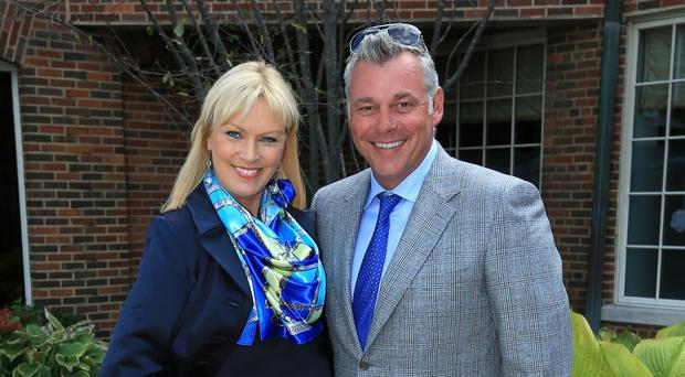 Alison and Darren Clarke