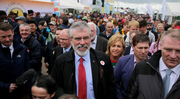 The claim was rejected by Gerry Adams, who has always denied he was in the IRA
