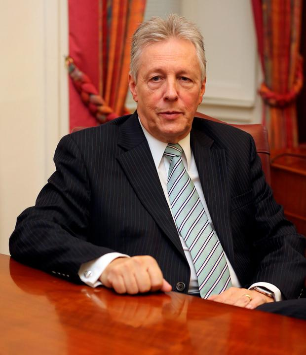 Former First Minister Peter Robinson