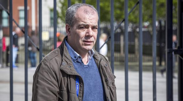 Colin Duffy at a previous court appearance