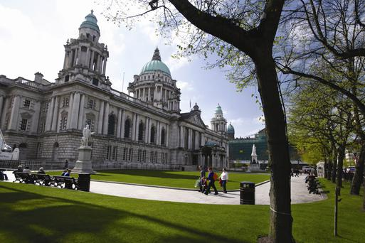 Belfast High Sheriff Jim Rodgers has spoken of his anger and embarrassment after a Chinese tourist's handbag was stolen at City Hall