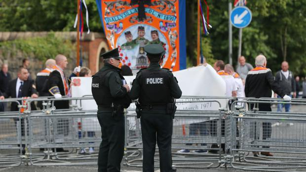 Nightly protests were held in the nearby unionist Woodvale/Twaddell area in the years since the camp was set up, with a protest parade every Saturday
