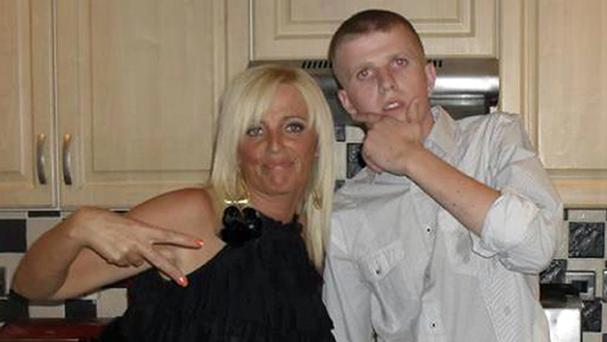 Sean Paul Carnahan, 22, who died in July 2013 after five months in Belfast City Hospital, with his mother Tracey