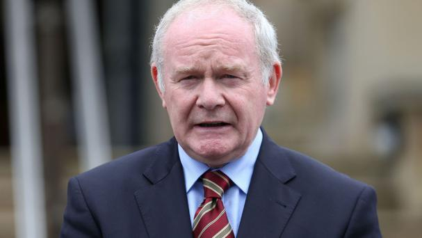Martin McGuinness today told the Labour Party conference that Stormont is