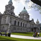 Fit-out firm Marcon is set to create an interactive exhibition and a new cafe at Belfast City Hall as part of a major deal