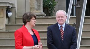 Arlene Foster and Martin McGuinness have exercised royal powers on behalf of the executive