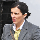 Line Of Duty star Vicky McClure on set on High Street, Belfast