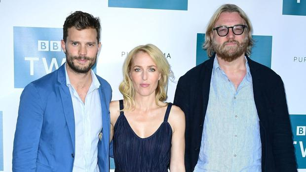 The Fall's Jamie Dornan, Gillian Anderson and writer Allan Cubitt